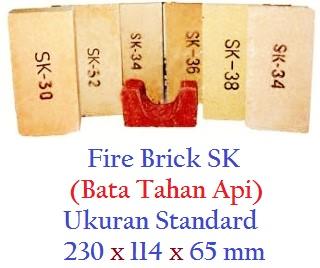 Jual Bata Api Standard & Bata Api Bentuk di Surabaya