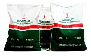 TECHNOCAST GUNNING CASTABLE REFRACTORIES