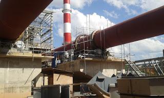 Perbaikan Refractory Fire Brick & Castable Rotary Kiln