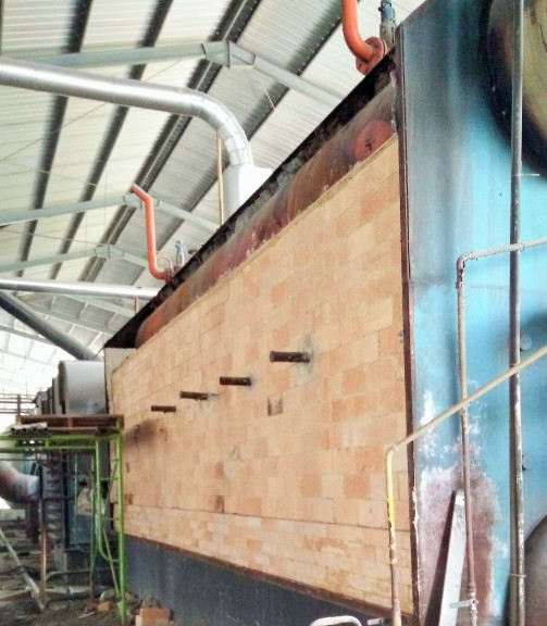 Lining Dinding & Ruang Bakar Bata Api Boiler Chain Grade