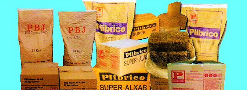 Plibrico Plastik Ramming Super ALX AB
